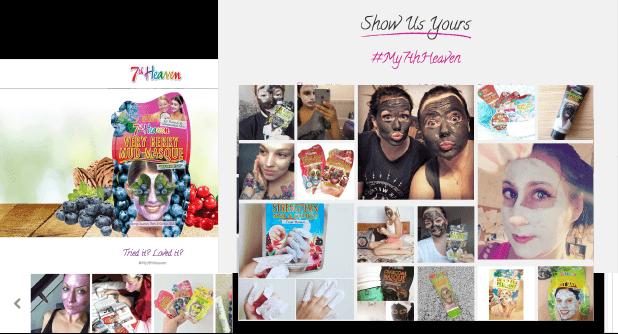 7th Heaven Website Build WordPress Makeup Website