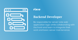 Backend Developer | Full time | £40k + benefits