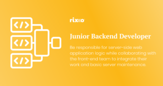 Junior Back-end Developer | Full time | £30k + benefits