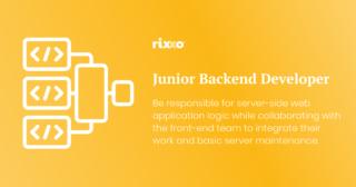 Junior Back-end Developer | Full time | £30k + benefits