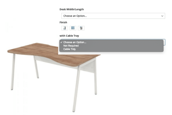 Configurable Products - Saxen