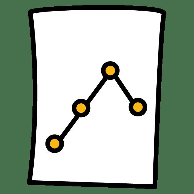 Chart Paper Graph Plot Lines