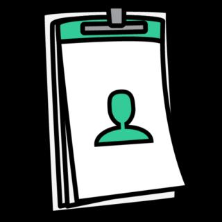 Clipboard Person