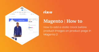 How to add a static block before product images on product page in Magento 2