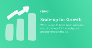 Rixxo Awarded £25,000 Scale Up 4 Growth Grant